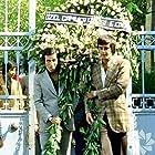 Tarik Akan and Kemal Sunal in Hababam Sinifi Sinifta Kaldi (1976)