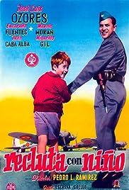 Recluta con niño Poster