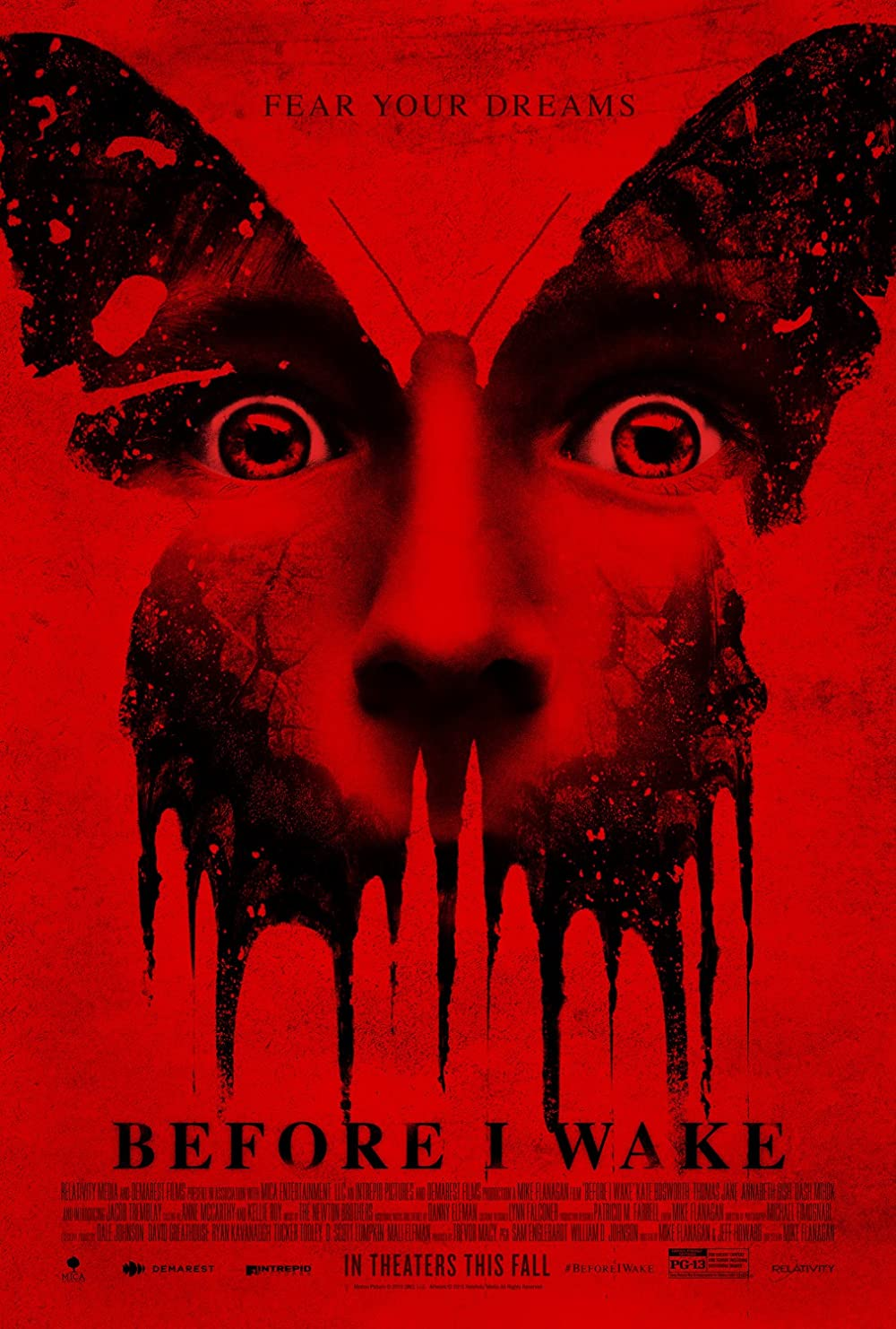 Before I Wake 2016 Hindi Dual Audio 720p BluRay 750MB ESub x264