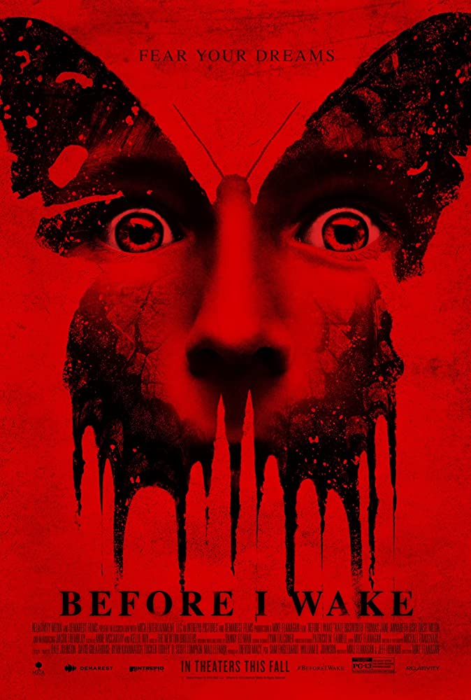 Poster film Before I Wake (2016)