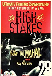 UFC 28: High Stakes Poster