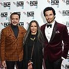Gulshan Grover, Randeep Hooda, and Deepa Mehta at an event for Beeba Boys (2015)