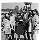 Patty Duke, Lee Grant, Barbara Parkins, Mark Robson, and Jacqueline Susann in Valley of the Dolls (1967)