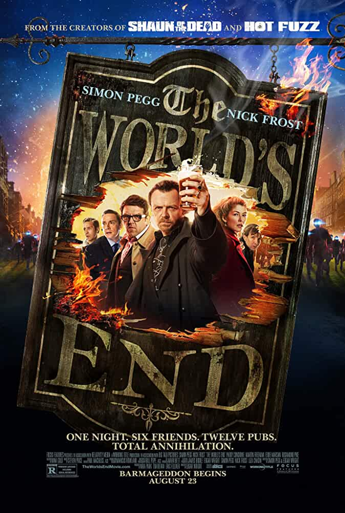 Download The World's End (2013) Dual Audio (Hindi Dubbed + English ) BluRay 480p 720p Esubs x264