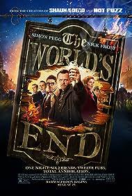 Paddy Considine, Martin Freeman, Nick Frost, Eddie Marsan, Simon Pegg, and Rosamund Pike in The World's End (2013)