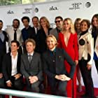 """Cast and Crew for """"Folk Hero & Funny Guy"""" at the World Premiere at Tribeca Film Festival in New York City (2016)"""