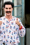 Sacha Baron Cohen will stand alone in Golden Globe history if he wins again with 'Borat Subsequent Moviefilm'