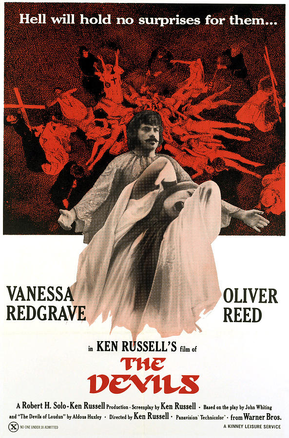 Vanessa Redgrave and Oliver Reed in The Devils (1971)