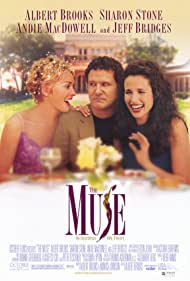 Sharon Stone, Andie MacDowell, and Albert Brooks in The Muse (1999)
