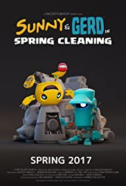 Sunny and Gerd in Spring Cleaning Poster