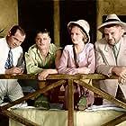 Eleanor Boardman, Ralph Forbes, Jean Hersholt, and Albert S. Rogell in Mamba (1930)