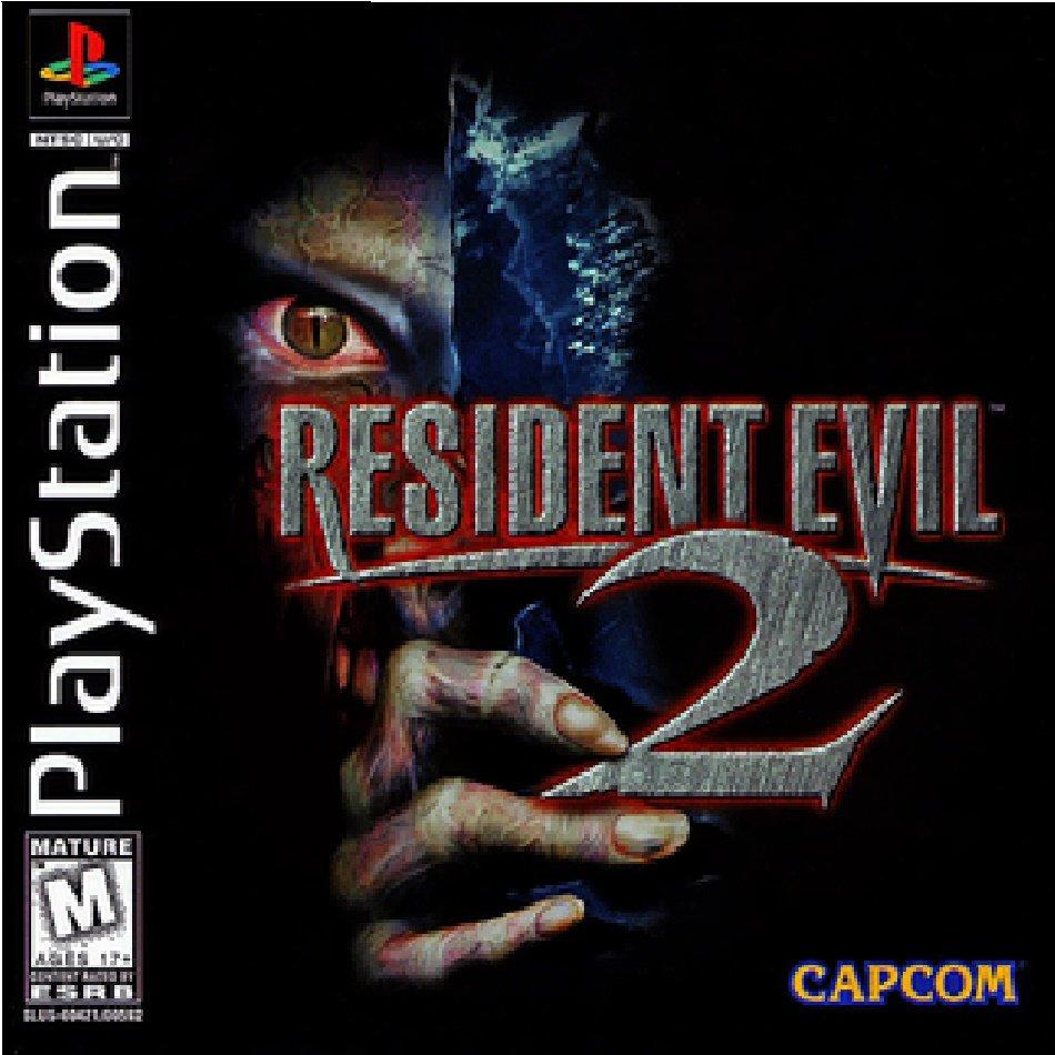 resident evil 2 original box art