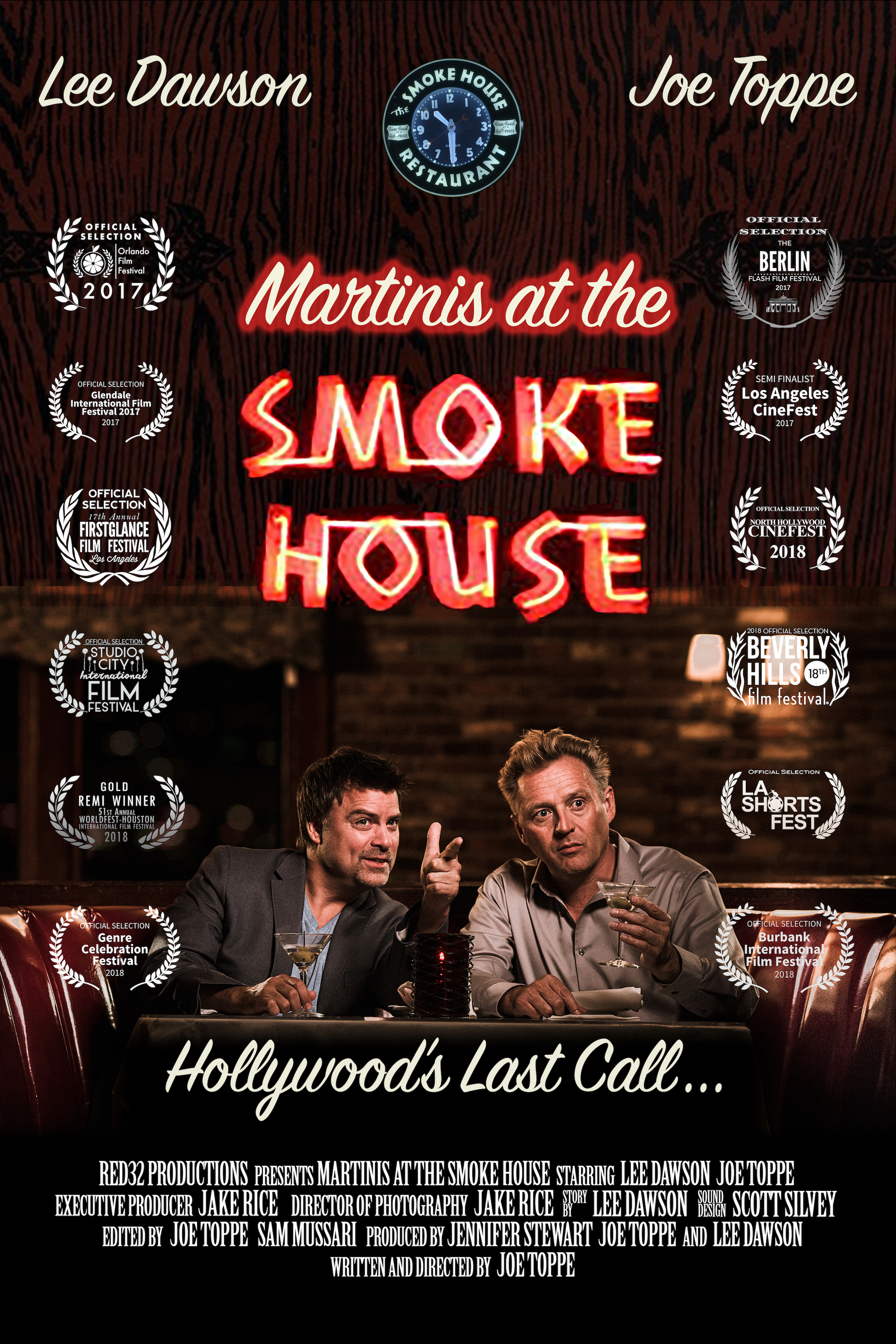 """Martinis at the Smoke House"" - Written and Directed by Joe Toppe"