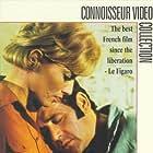 Stéphane Audran and Jean Yanne in Le boucher (1970)