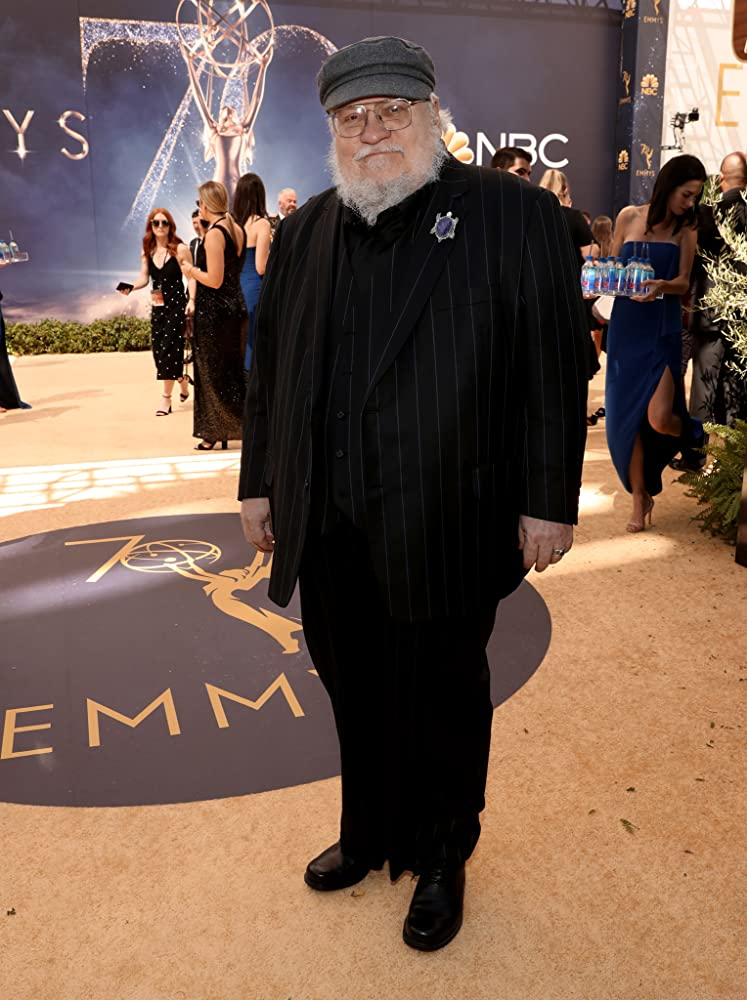 George RR Martin at an event for Game of Thrones 2011