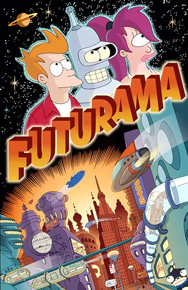 Futurama (1999) Season 1-7 S01-S07 + Extras (Mixed x265 HEVC 10bit AAC 5.1 RCVR) REPACK (47.62GB)