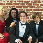 Greg Sestero, Philip Haldiman, Tommy Wiseau, and Juliette Danielle in The Room (2003)