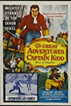 The Great Adventures of Captain Kidd (1953) Poster