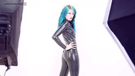 Latex leggings video