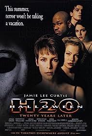 Jamie Lee Curtis, Josh Hartnett, LL Cool J, Jodi Lyn O'Keefe, and Michelle Williams in Halloween H20: 20 Years Later (1998)