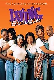 Queen Latifah, Erika Alexander, Kim Fields, Terrence 'T.C.' Carson, Kim Coles, and John Henton in Living Single (1993)