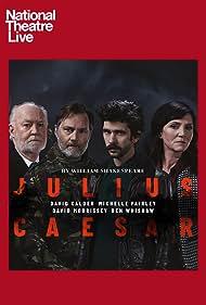 David Calder, Michelle Fairley, David Morrissey, and Ben Whishaw in National Theatre Live: Julius Caesar (2018)