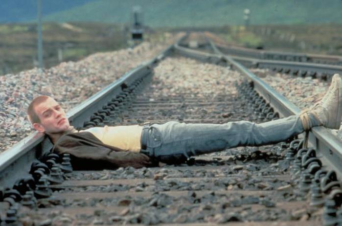 Ewan McGregor in Trainspotting (1996)