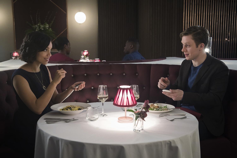Georgina Campbell and Joe Cole in Black Mirror (2011)