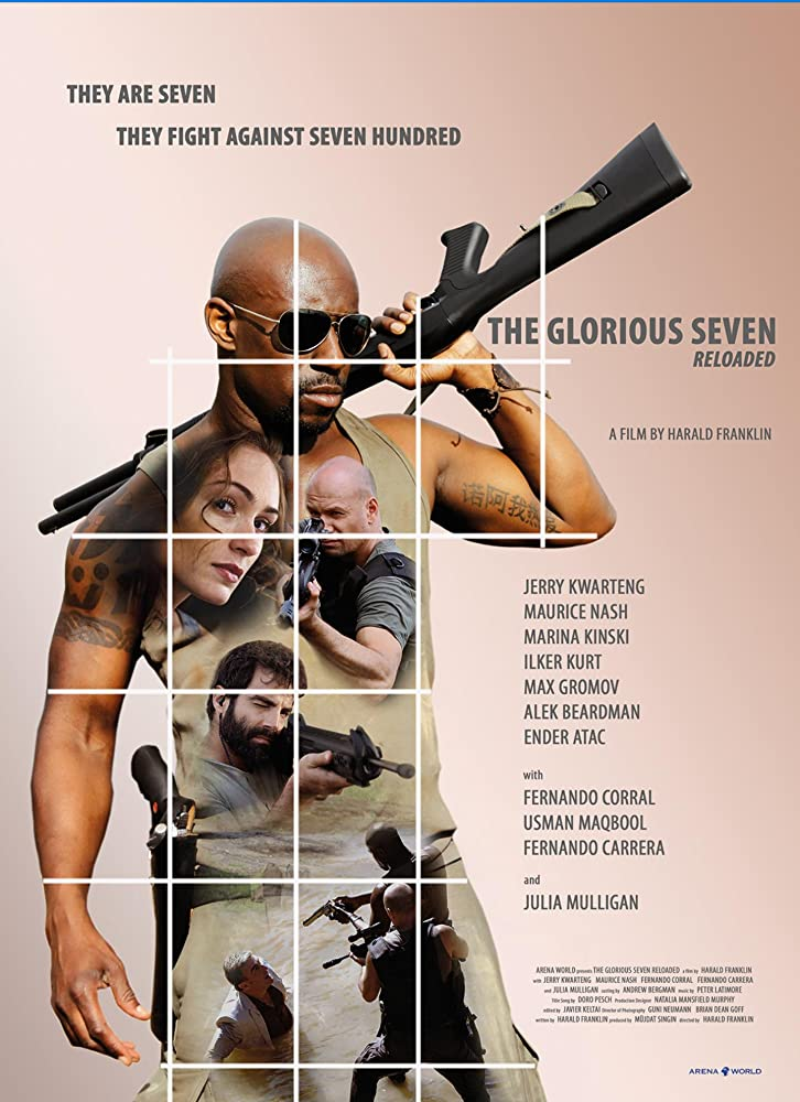 The Glorious Seven 2019 English 300MB HDRip Download