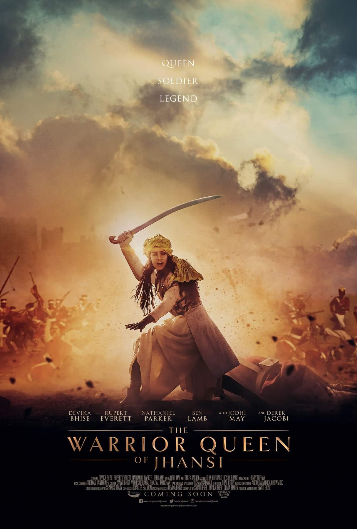 The Warrior Queen of Jhansi (2019) English 720p HEVC HDRip  x265 AAC ESubs (500MB) Full Movie Download