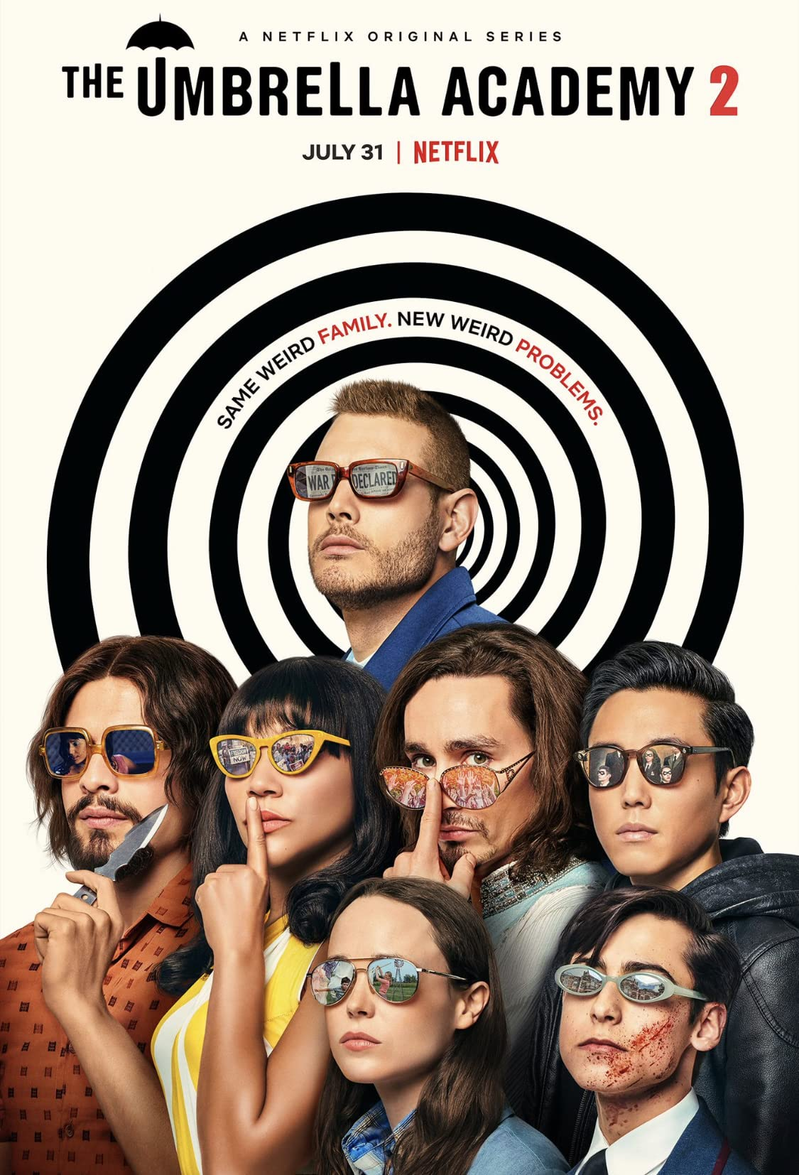 雨傘學院 (第2季) | awwrated | 你的 Netflix 避雷好幫手!