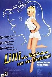 Lilli - ein Mädchen aus der Großstadt Poster