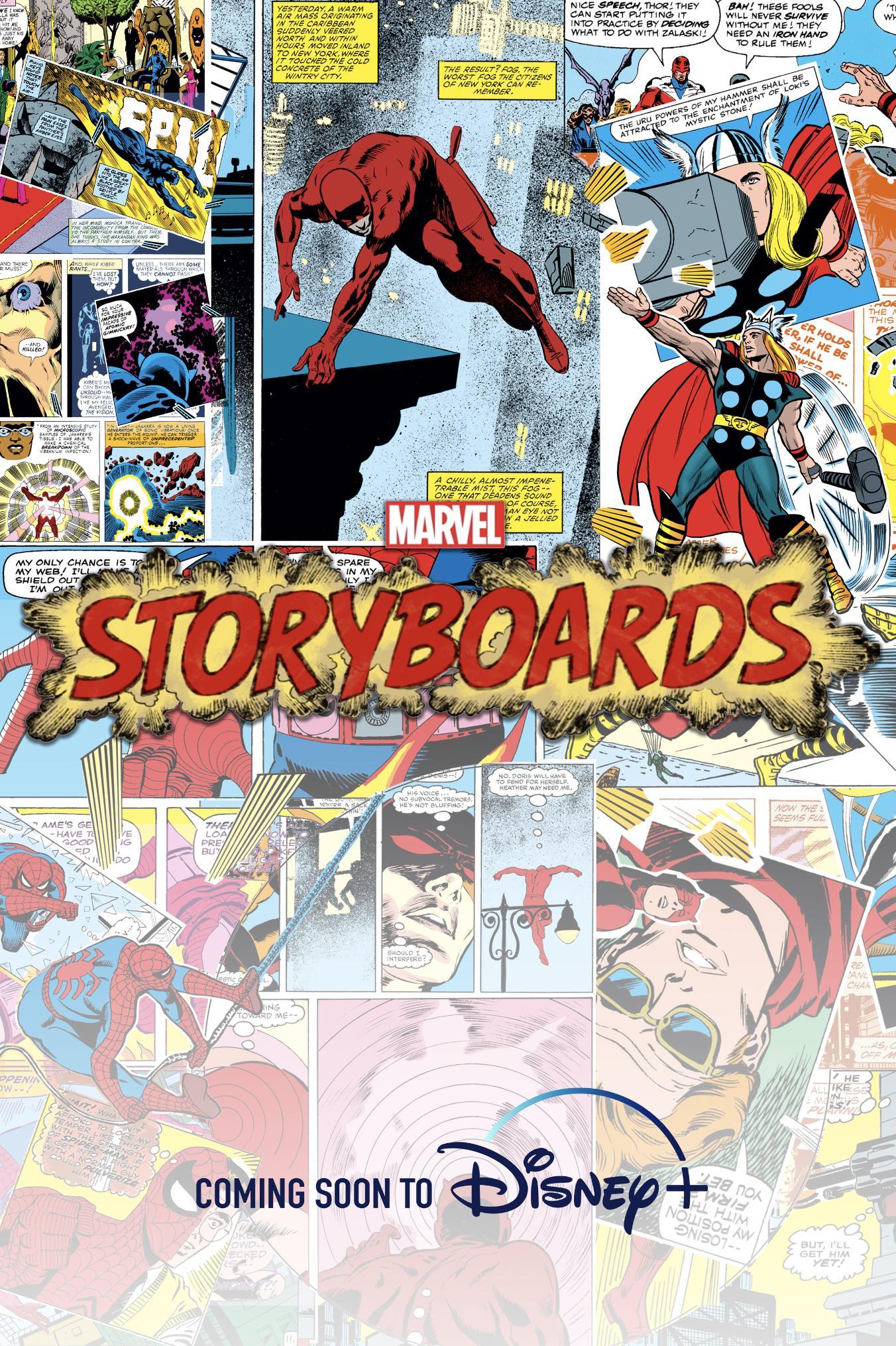 Раскадровки Marvel