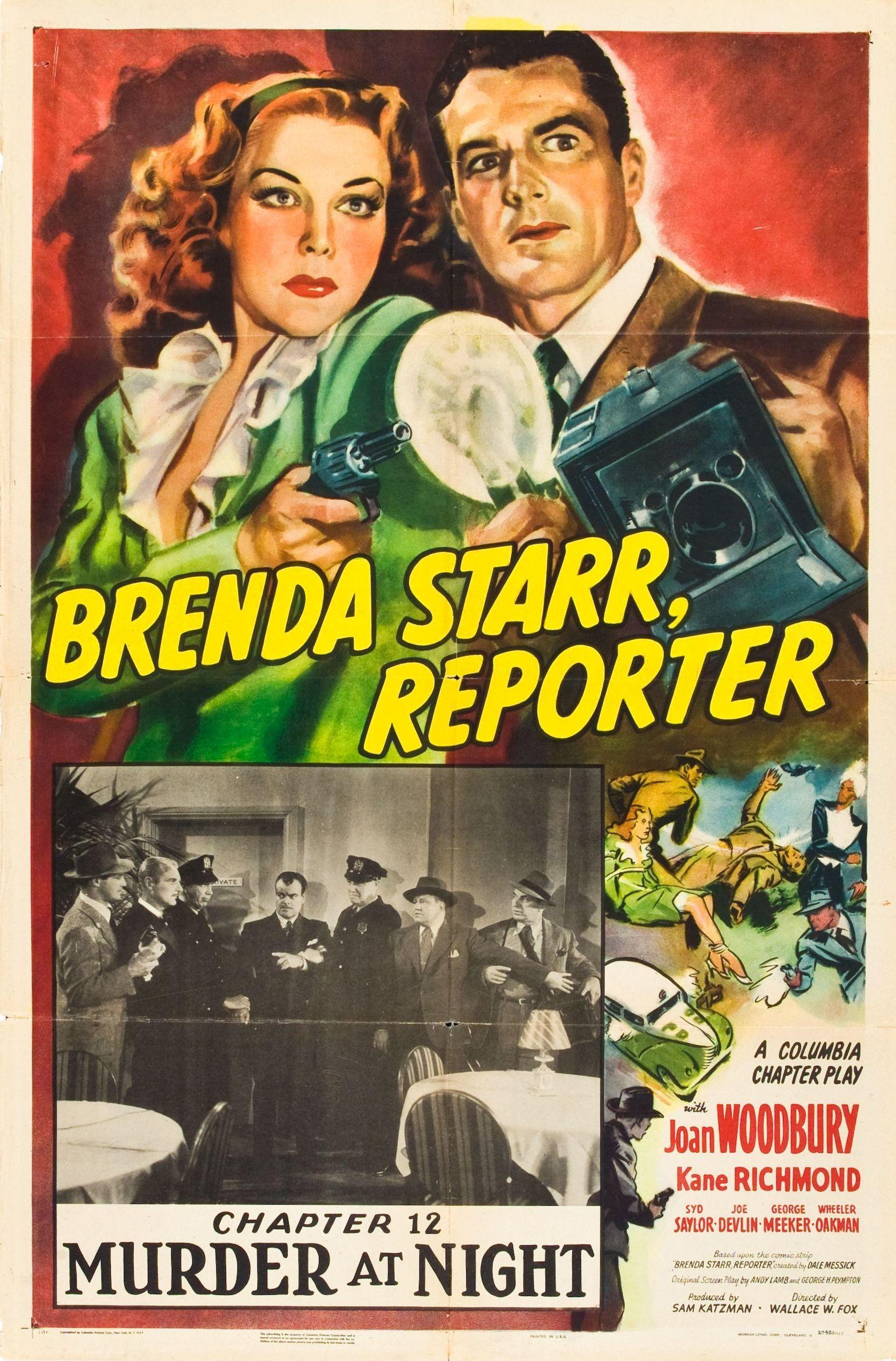 Brenda Starr, Reporter (1945) - IMDb