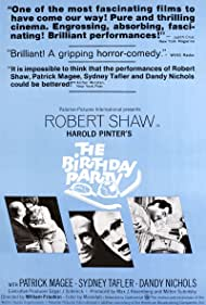 Robert Shaw, Helen Fraser, and Patrick Magee in The Birthday Party (1968)