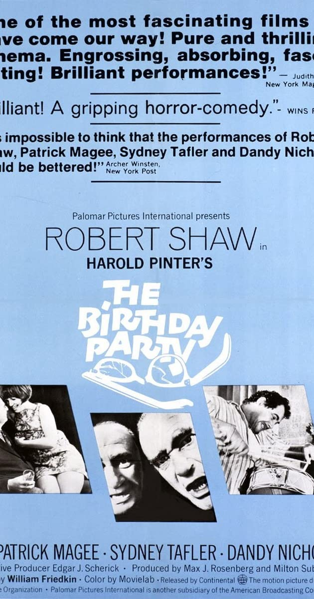 Watch Full HD Movie The Birthday Party (1968)