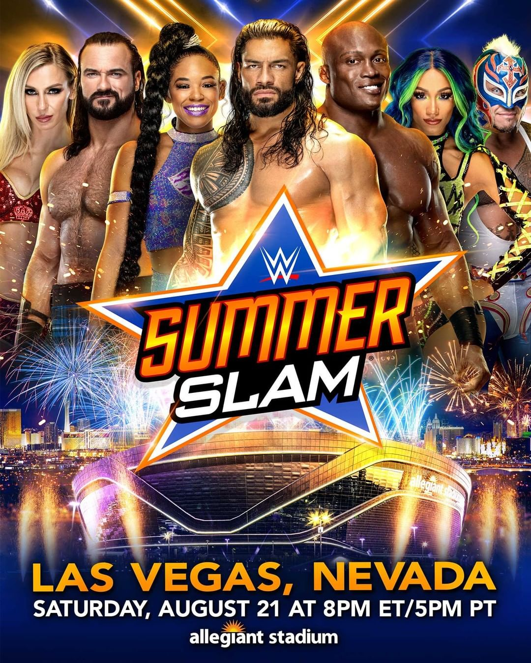 WWE Summerslam 2021: New Title Match Officially Announced 33
