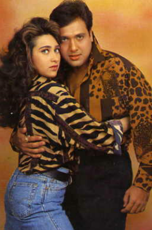 Karisma Kapoor and Govinda in Coolie No. 1 (1995)