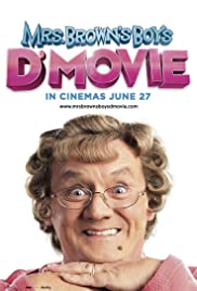 Mrs. Brown's Boys D'Movie (2014) Poster - Movie Forum, Cast, Reviews