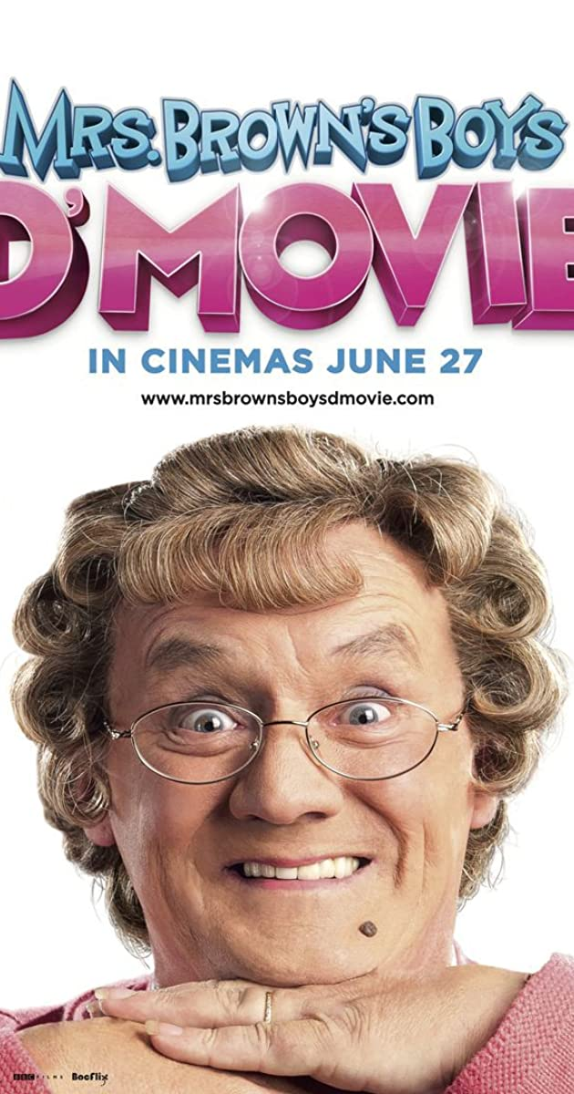 Subtitle of Mrs. Brown's Boys D'Movie