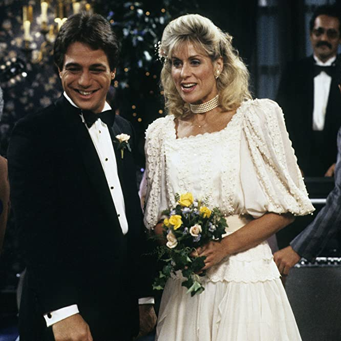 Tony Danza and Judith Light in Who's the Boss? (1984)