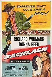 Backlash(1956) Poster - Movie Forum, Cast, Reviews