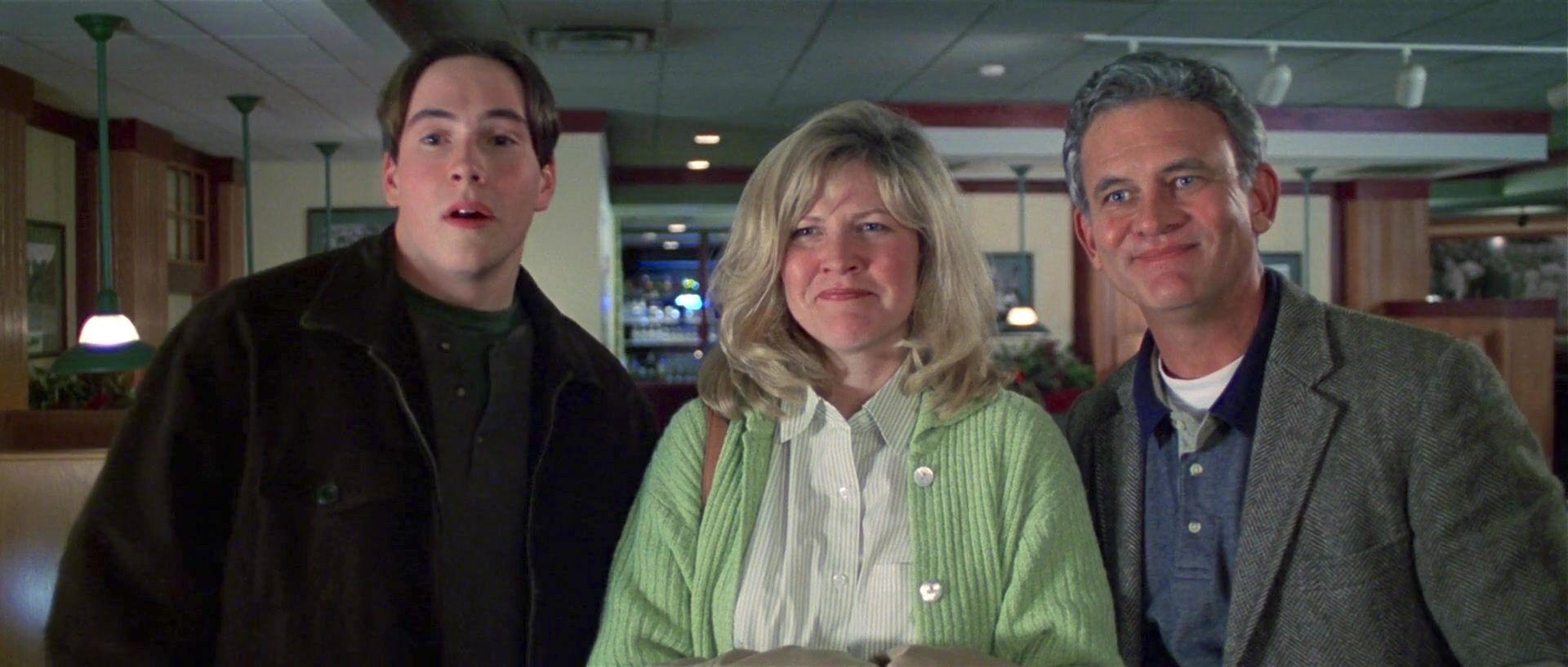 Chris Klein, Jeanine Jackson, and Holmes Osborne in Election (1999)