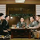 Setsuko Hara, Ryûji Kita, Nobuo Nakamura, Shin Saburi, and Yôko Tsukasa in Akibiyori (1960)
