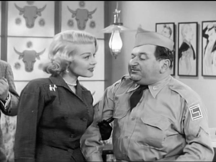 Maurice Gosfield and Sally Mansfield in The Phil Silvers Show (1955)