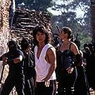 Talisa Soto and Robin Shou in Mortal Kombat: Annihilation (1997)