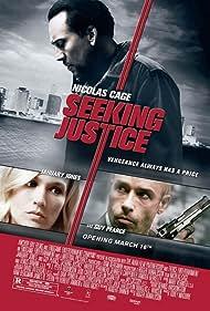 Nicolas Cage, Guy Pearce, and January Jones in Seeking Justice (2011)