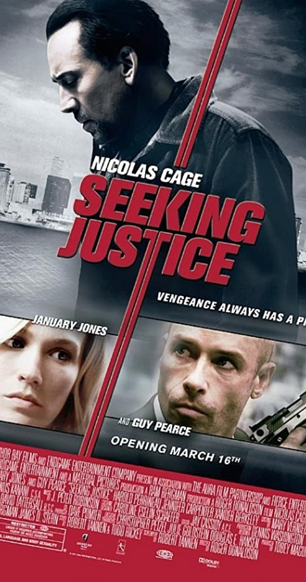 Subtitle of Seeking Justice