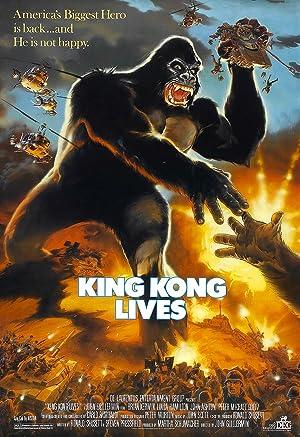 Download King Kong Lives (1986) Dual Audio {Hindi-English} 720p [700MB]