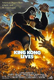King Kong Lives 1986 HDRip 720p 640MB [English-Hindi-Telugu] ESubs MKV